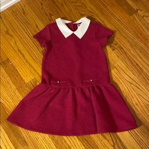 Janie and Jack quilted dress, worn twice